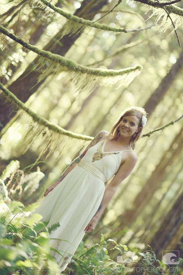 Chris Pouget Photography_Forest Bride