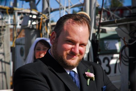 Douglas Ludwig_Ucluelet Wedding Groom