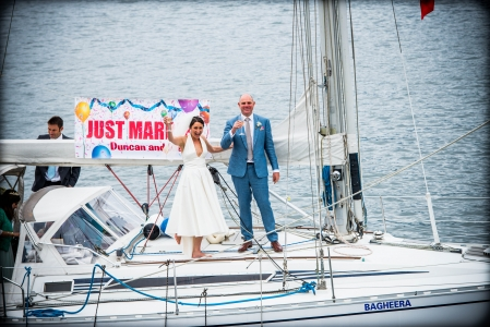 Douglas Ludwig_Sailboat Wedding